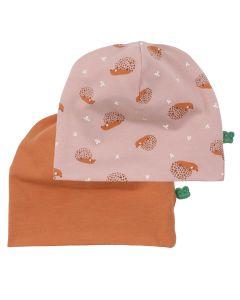 HEDGEHOG beanie 2-pack - BABY