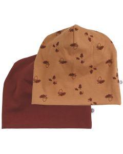 ACORN beanie / hat 2-pack -BABY
