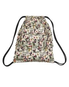 WINTER FLOWER bag with straps