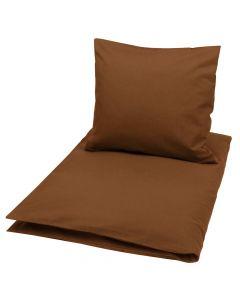 Solid bed linen in organic cotton -JUNIOR