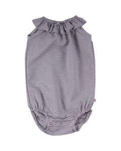 WOVEN stripe sleeveless body