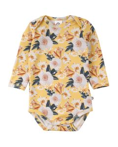 BLOOM body with long sleeves and flower print