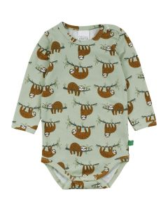 SLOTH longsleeve body with all over print