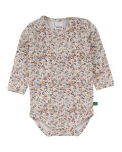 MINI body with long sleeves and flowerprint