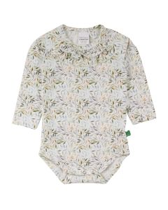 LEAF longsleeve body with print of small leafs