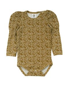 PETIT FLEUR body with puff sleeves
